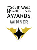 2016 South West Small Business Awards winner badge